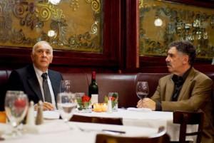 "Frank Langella and Elliott Gould in ""The Caller"""