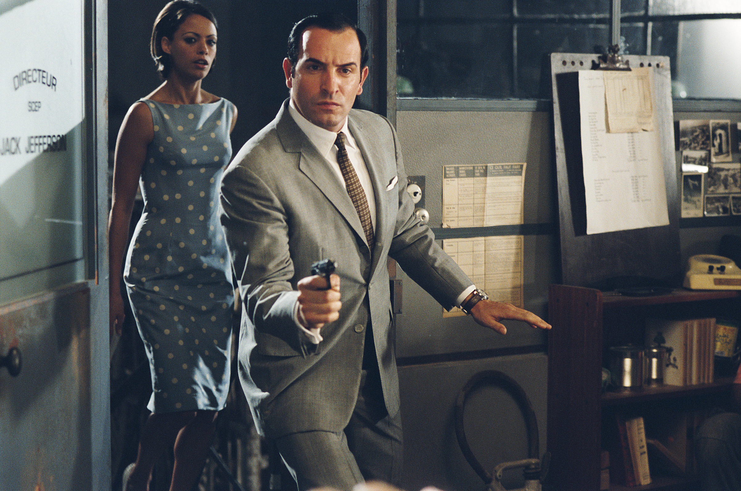 Two things you may not have known about oscar nominees for Film jean dujardin