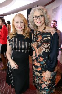 Photo credit: Rowena Husbands Honorees Patricia Clarkson and Blythe Danner